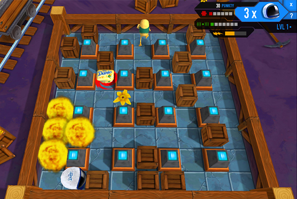 Danone – Bomberman game