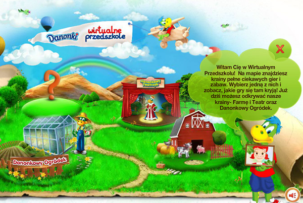 Danone – Wirtualne Przedszkole